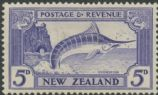 NZ SG584 5d Striped Marlin (Swordfish) perf 13-14x13½